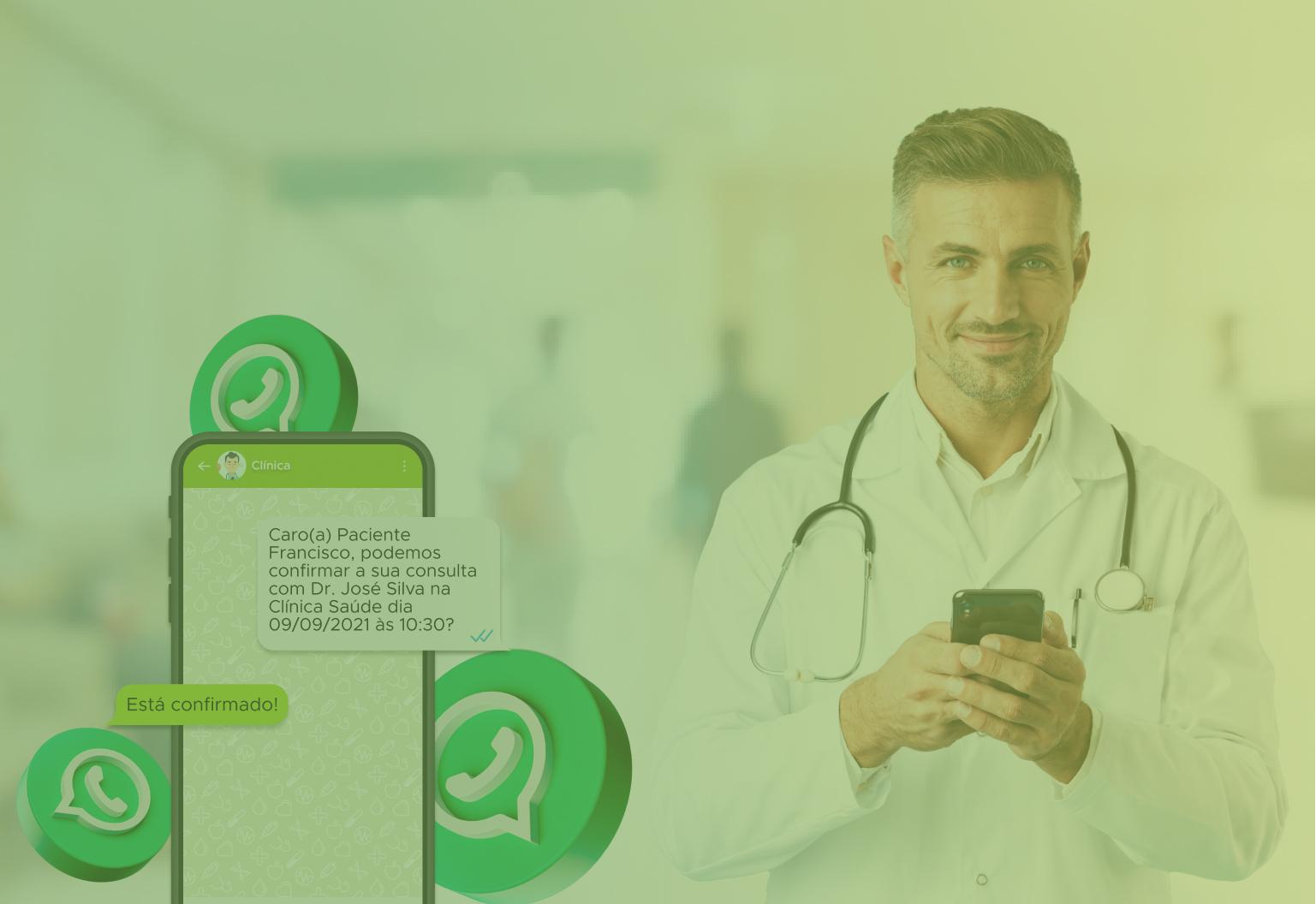 Novidade! Confirmação de consultas automáticas por WhatsApp: como funciona e quais são os benefícios
